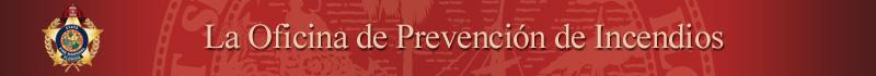Oficina de Prevención de Incendios