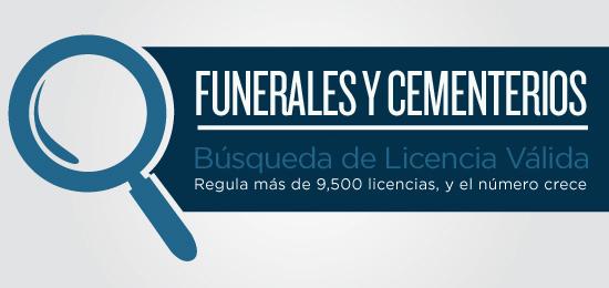 Búsqueda de Licencia Válida de Funerales y Cementerios