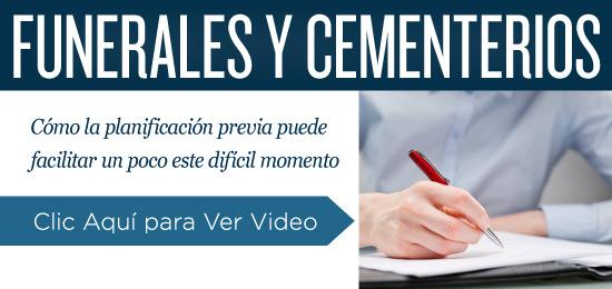 Funeral, Cementerio: planificación previa - Video
