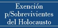 Exención de Cargos para Sobrevivientes del Holocausto