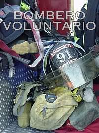 Afiche de Bomberos Voluntarios
