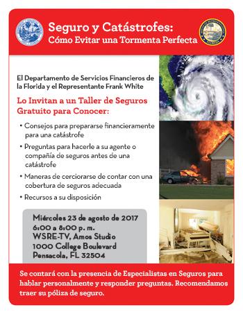 Folleto de Preparación para Catástrofes