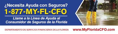 ¿Necesita Ayuda con Seguros? 1-877-MY-FL-CFO