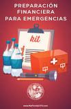 Un aspecto importante de la preparación para catástrofes es la preparación financiera. Este kit está diseñado para ayudarlo a organizar su información financiera antes y después de una catástrofe.