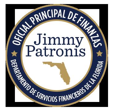 Sello del cartel del Oficial Principal de Finanzas