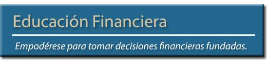Encabezado de Conocimiento Financiero