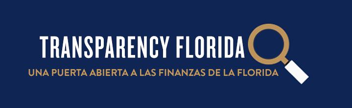 Transparency Florida logo button
