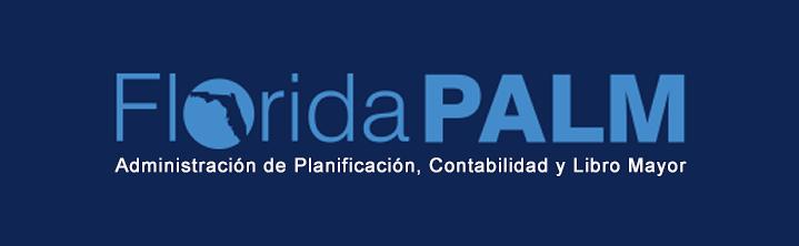 Botón con logo de Florida PALM
