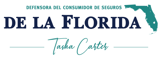 Logo de la Defensora del Consumidor de Seguros de la Florida Tasha Carter