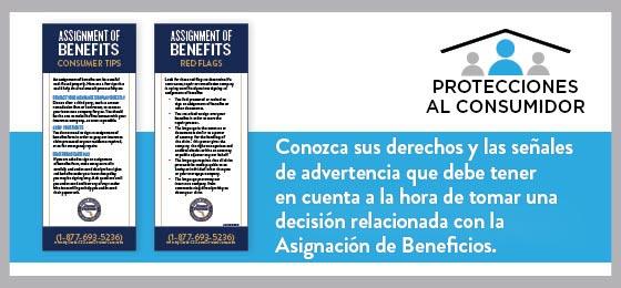 Conozca las señales de advertencia y cómo protegerse antes de firmar una Asignación de Beneficios.