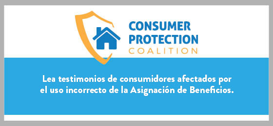 Lea testimonios de consumidores afectados por el uso incorrecto de la Asignación de Beneficios.