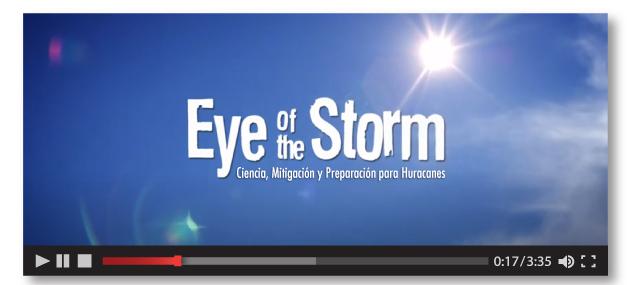 Eye of the Storm: Serie de Videos sobre Preparación para Huracanes