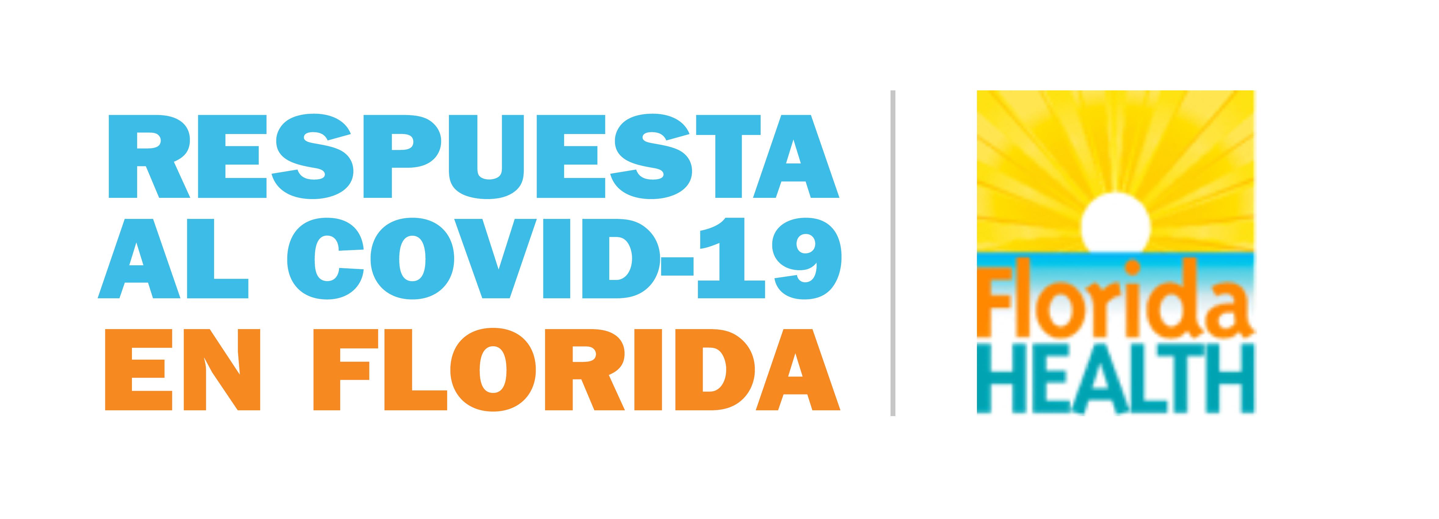 Logo delDepartamento de Salud de la Florida: Respuesta a COVID-19