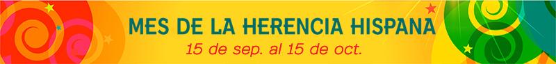 Banner de Mes de la Herencia Hispana