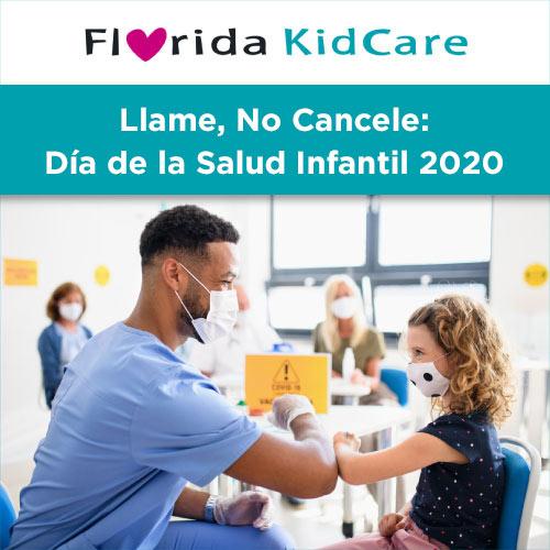 YourFLVoice: Llame, No Cancele - Día de la Salud Infantil 2020