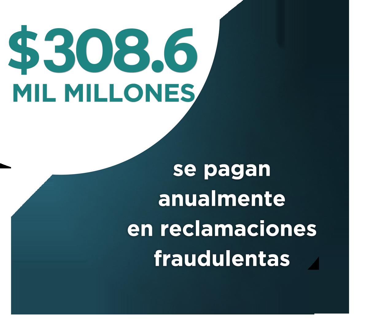 $80 Mil Millones en Pagos de Reclamaciones Fraudulentas al Año