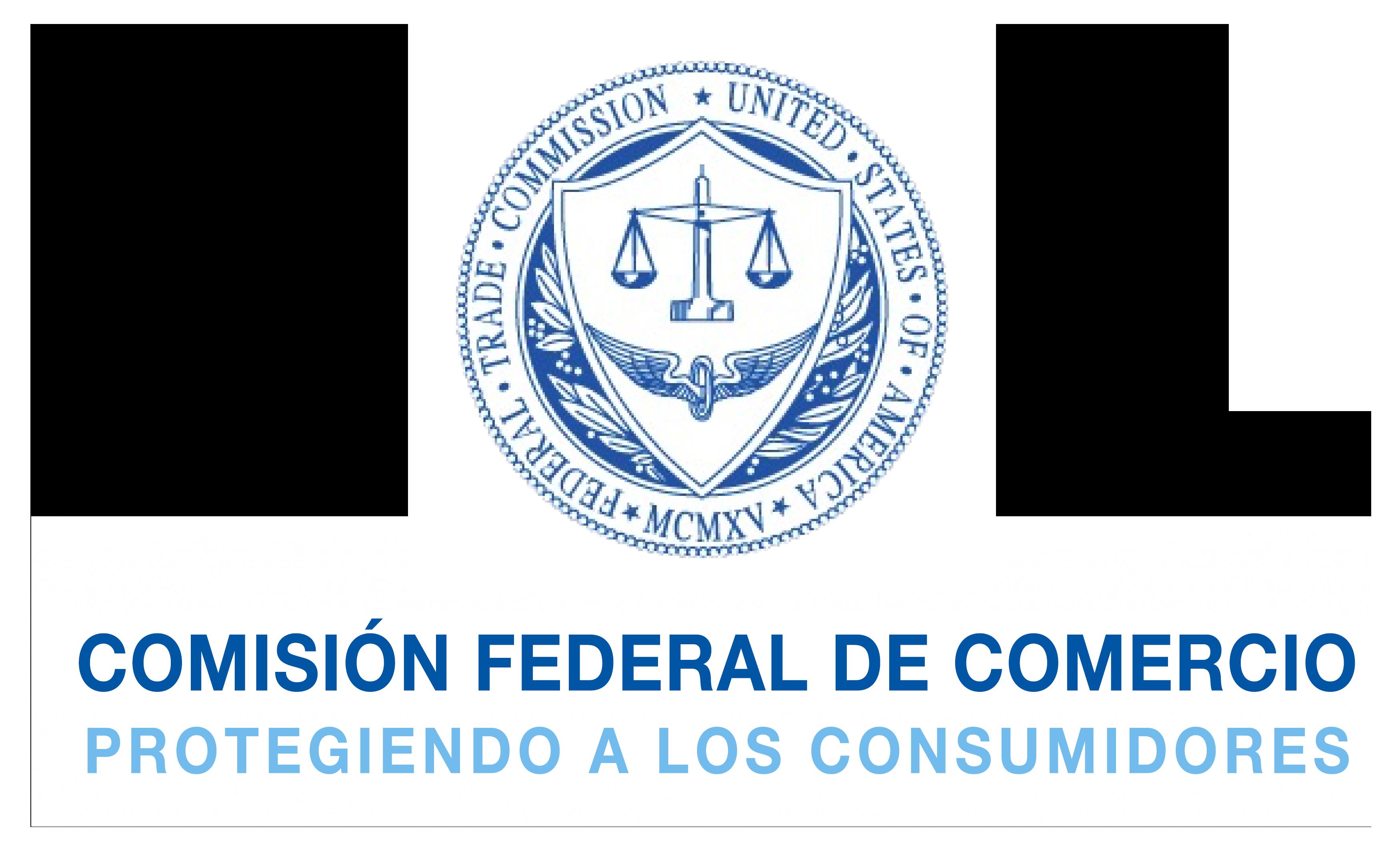 Logo de la Comisión Federal de Comercio:Protegiendo a los Consumidores