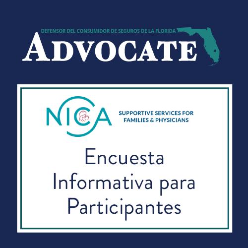 Enlace a la Encuesta Informativa para Participantes de la NICA