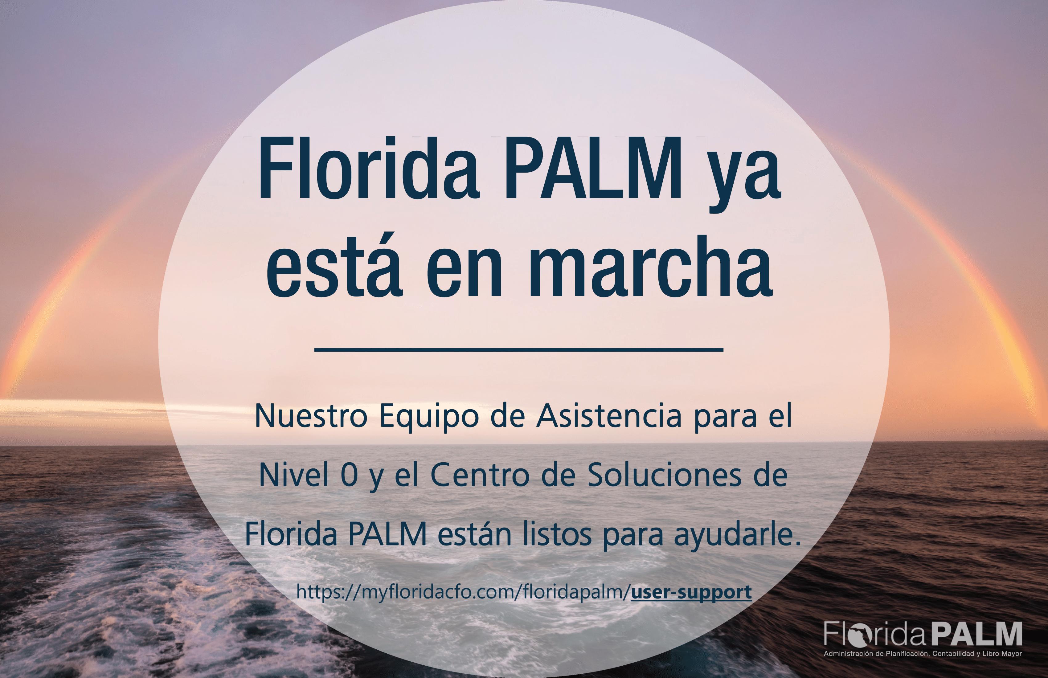 Florida PALM ya está en marcha