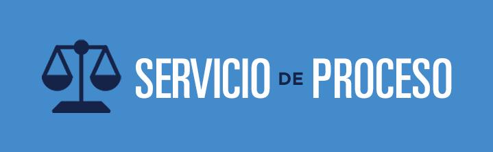 Botón con Logo de Servicio de Proceso