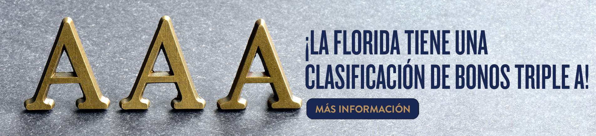 Oficial Principal de Finanzas Jimmy Patronis sobre la Clasificación de Bonos AAA