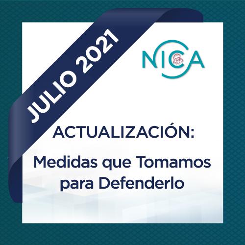Email de Actualización de Julio de 2021: Medidas que Tomamos para Defenderlo