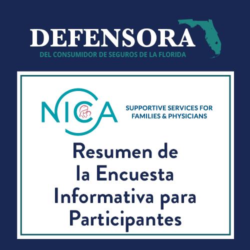 Resumen de la Encuesta Informativa para Participantes