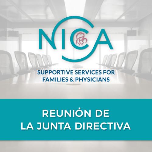 Próxima Reunión de la Junta Directiva de la NICA