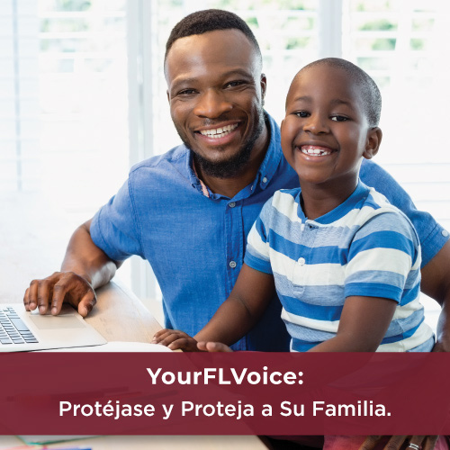 Email de YourFLVoice: Protéjase y Proteja a Su Familia.